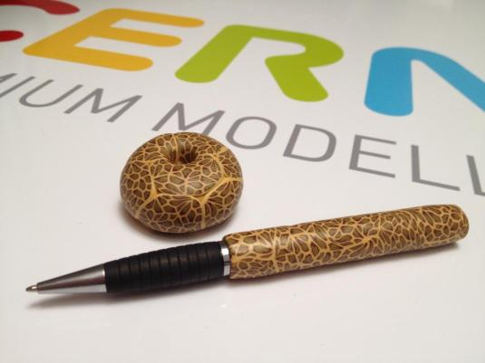 Pen & pen holder tutorial coming soon